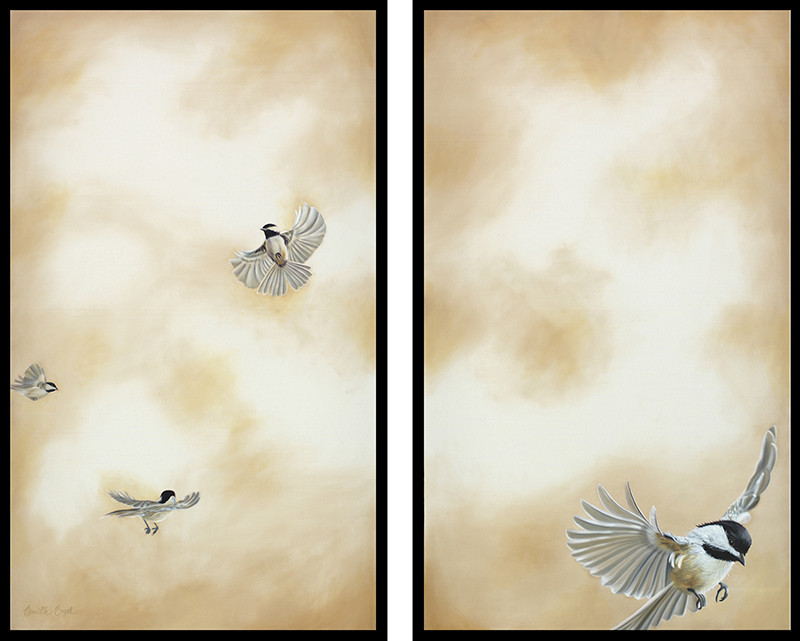 Flying High - Diptych