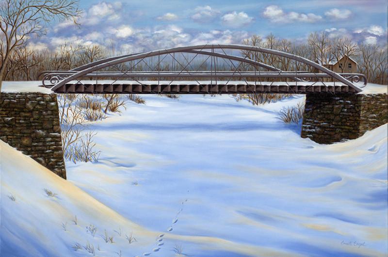 Winter Still at Bressler Mill