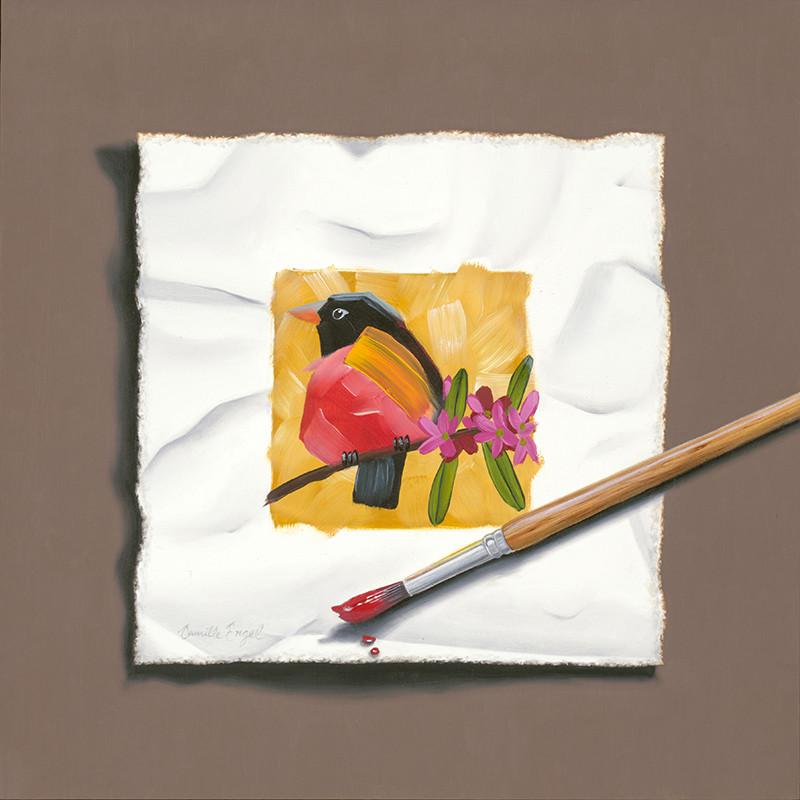 Wet Paint: Robin Redbreast