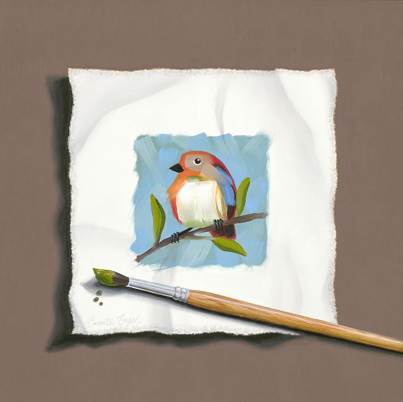 Wet Paint: Eye on the Sparrow